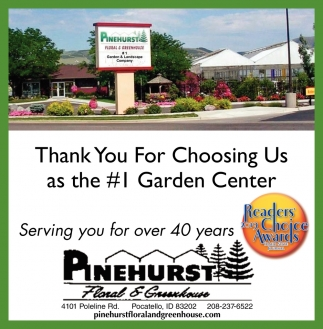 Thank You for Choosing Us as the #1 Garden Center