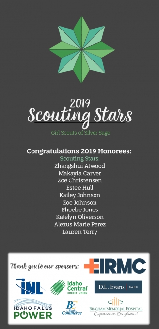 Congratulations 2019 Honorees