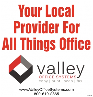 Your Local Provider for All Things Office