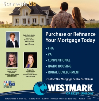 Purchaseor Refinance Your Mortgage Today