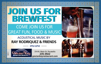 Join Us for Brewfest