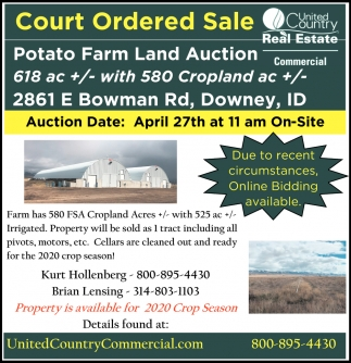Court Ordered Sale