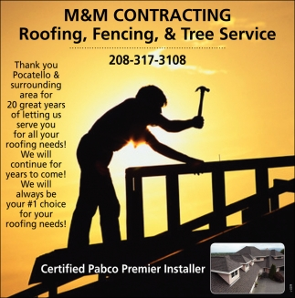 Roofing, Fencing & Tree Service