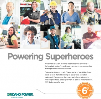 Powering Superheroes