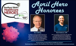 April Hero Honorees