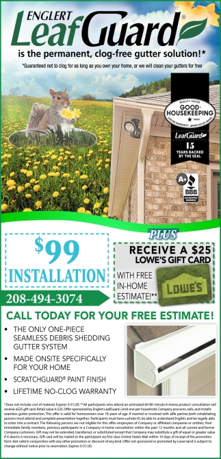 Call Today for Your FREE Estimate!