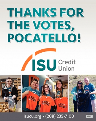 Thanks for The Votes, Pocatello