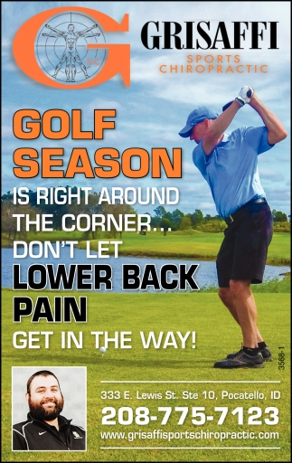 Golf Season is Right Around the Corner... Don't Let Lower Back Pain Get in the Way!