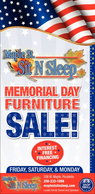 Memorial Day Furniture Sale!