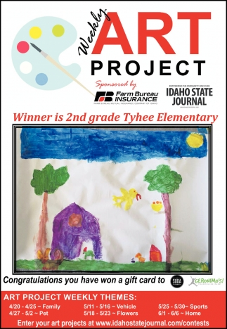 Winner is 2nd Grade Tyhee Elementary