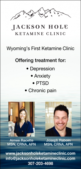 Wyoming's First Ketamine Clinic
