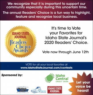 Readers Choice Awards!