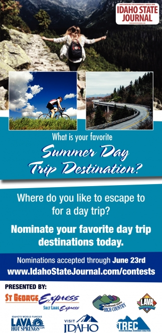 Nominate Your Favorite Day Trip Destinations Today