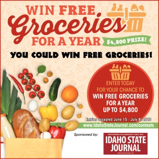 You Could Win Free Groceries!