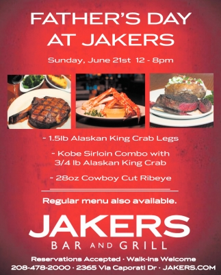 Father's Day at Jakers