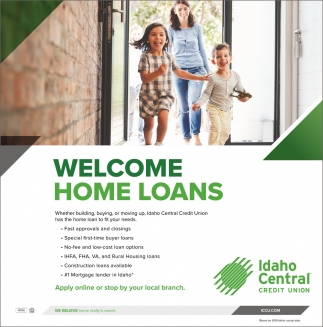 Welcome Home Loan
