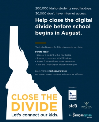 Help Close the Digital Divide Before School Begins in August