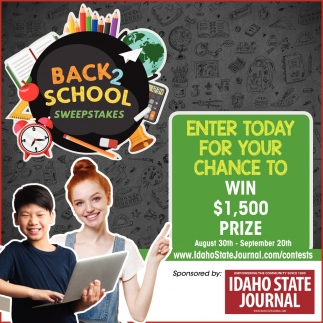 Back 2 School Sweepstakes