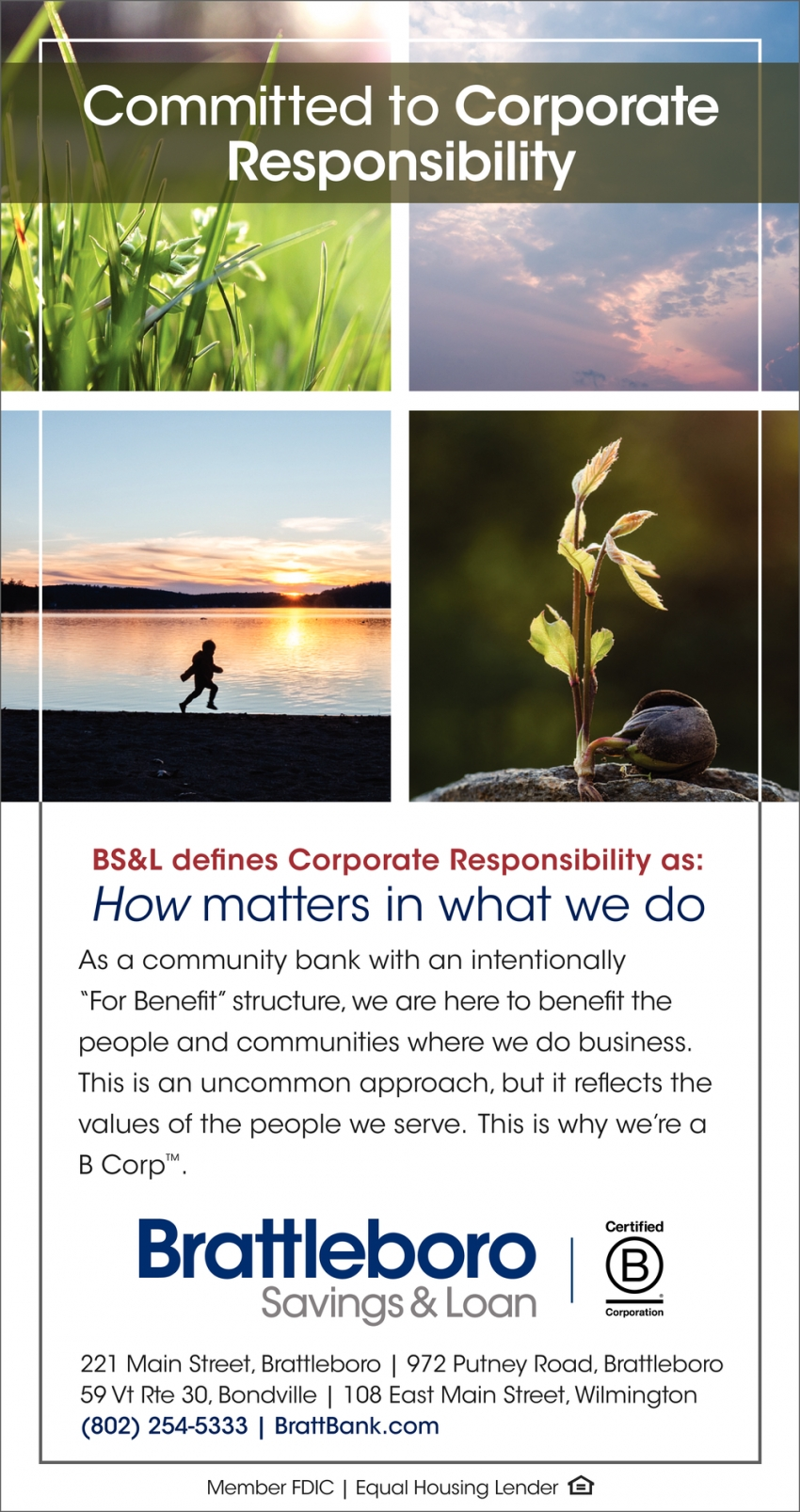 Committed to Corporate Responsibility