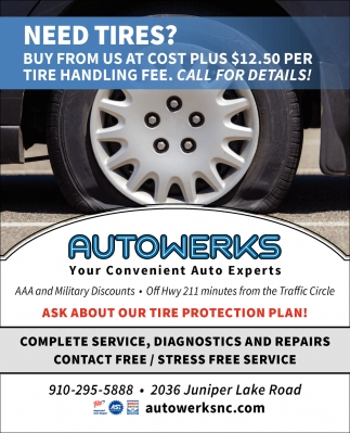 Ask About Our Tire Protection Plan!