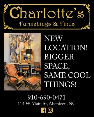 New Location! Bigger Space, Same Cool Things!
