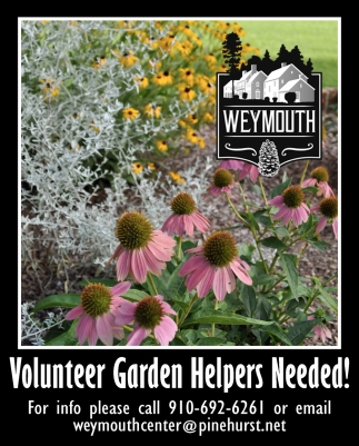 Volunteer Garden Helpers Needed!