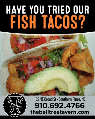 Have You Tried Our Fish Tacos?