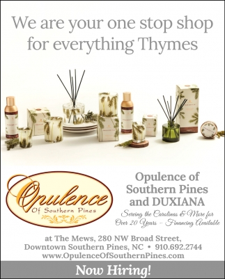 We Are Your One Stop Shop For Everything Thymes