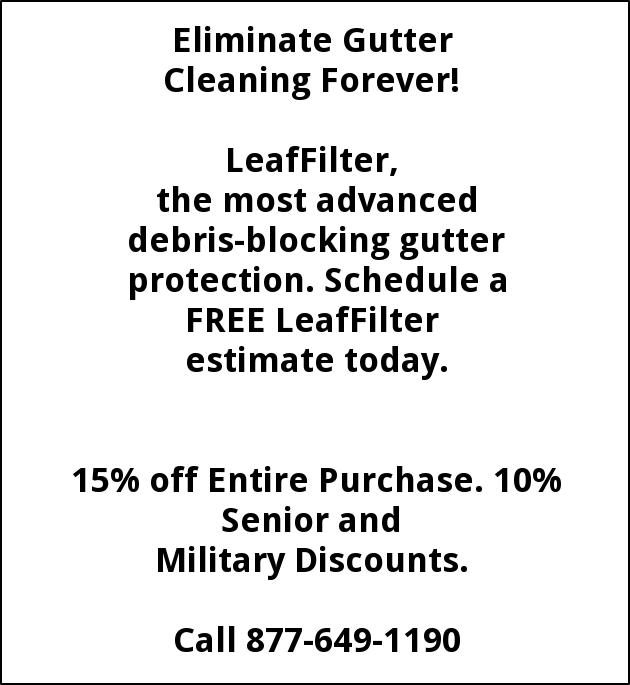 Eliminate Gutter Cleaning Forever!