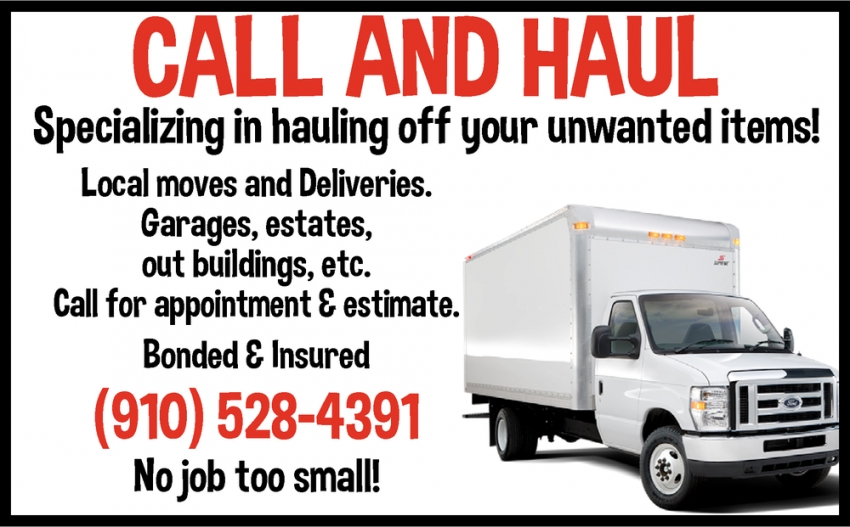 Call And Haul
