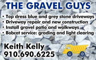 Specializing In Top Dressing Grey Stone Driveways.