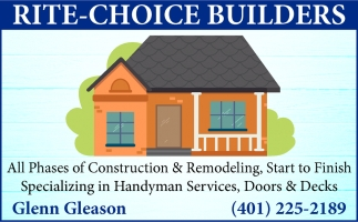 All Phases Of Construction & Remodeling
