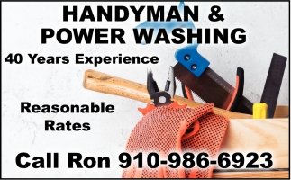 Handyman & Power Washing