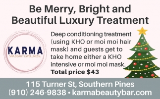 Be Merry, Bright And Beautiful Luxury Treatment