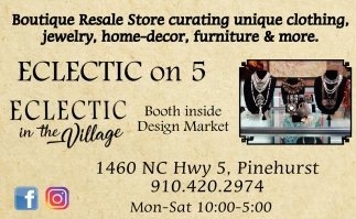 Boutique Resale Store Curating Unique Clothing, Jewelry, Home-Decor, Furniture & More