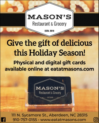 Give The Gift Of Delicious This Holiday Season!