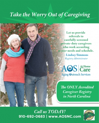 Take The Worry Out Of Caregiving