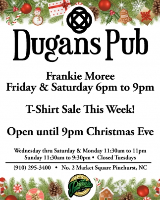 Frankie Moree Friday & Saturday