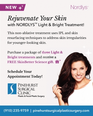 Rejuvenate Your Skin With Nordlys Light & Bright Treatment!