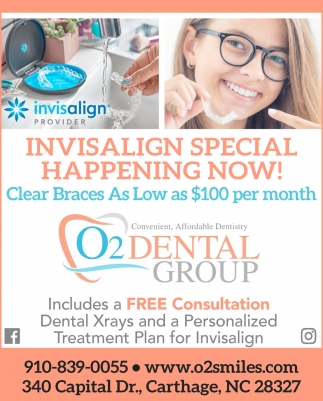 Invisalign Special Happening Now!
