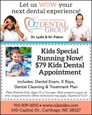 Let Us WOW Your Next Dental Experience!