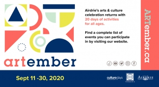Airdrie's Arts & Culture Celebration Returns with 20 Days of Activities for All Ages