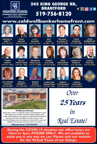 Over 25 Years in Real Estate!