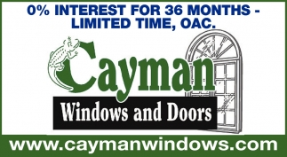 0% Interest for 36 Months - Limited Time, OAC