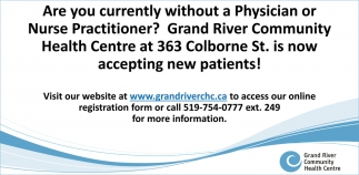 Are You Currently Without a Physician or Nurse Practitioner?