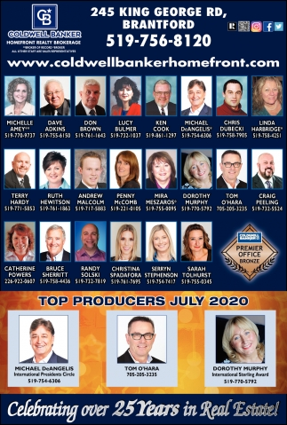 Top Producers July 2020