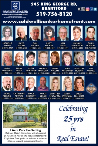 Celebrating Over 25 Years in Real Estate!