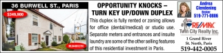 Opportunity Knocks - Turn Key Up/Down Duplex