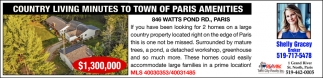 Country Living Minutes to Town of Paris Amenities