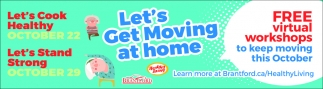 Let's Get Moving At Home
